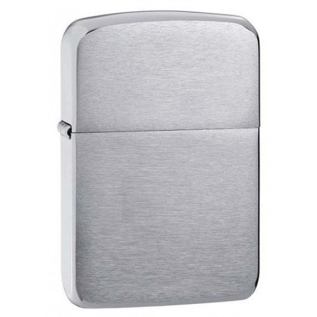 ZIPPO  Replica - Brushed Chrome (chrome brossé)