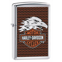 Zippo Harley Davidson Eagle High Polish Chrome (poli chromé)