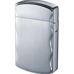 Briquet Fireball Satin Chrome Cigarette Visol