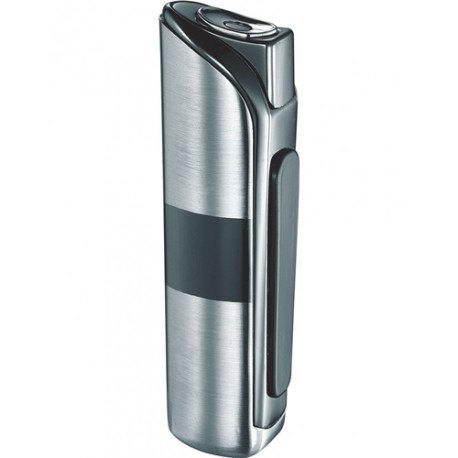 Briquet Dante Satin Nickel Jet Flame Visol