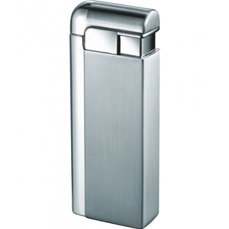 Briquet Russo Satin Chrome Jet Flame Visol