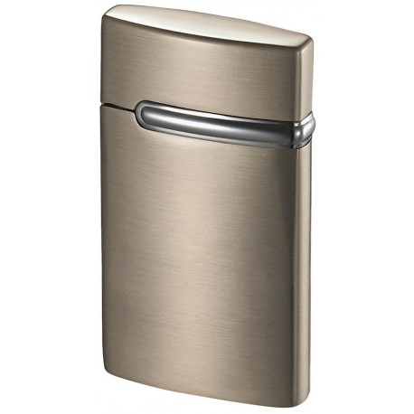 Briquet Valo Satin Nickel Coil Flame Visol