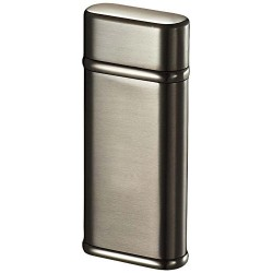 Briquet Tendre Satin Gunmetal Finish Coil Flame Visol