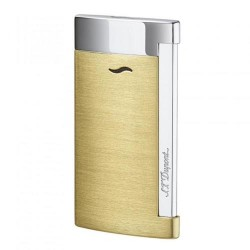 Briquet Slim 7 Or Brossé ST Dupont
