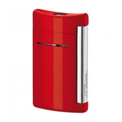 Briquet MiniJet Rouge Chrome ST Dupont