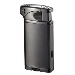 Briquet Coppia Polished Gunmetal Visol pour pipe