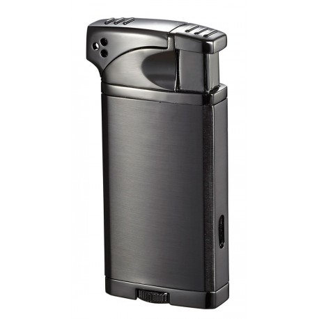 Briquet Coppia Polished Gunmetal Visol