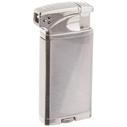 Briquet Coppia Chrome Visol pour pipe