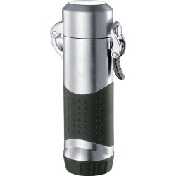 Briquet Summit Chrome Satin Jet Flame Visol