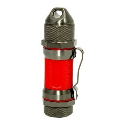 Briquet Storm Gunmetal Red High Altitude Visol