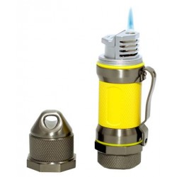 Briquet Storm Gunmetal Yellow High Altitude Visol