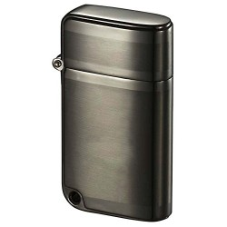 Briquet Ranger Brushed Gunmetal Torch Flame Visol