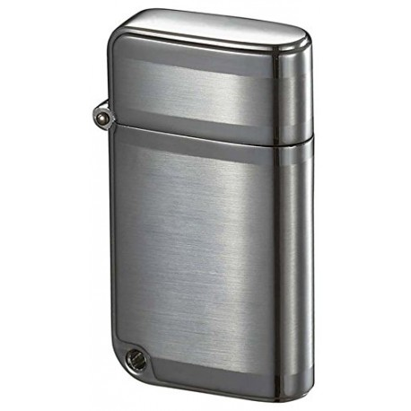 Briquet Ranger Brushed Chrome Torch Flame Visol