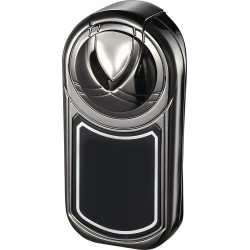 Briquet Dobrev Single Jet Flame Gunmetal Cigar Visol