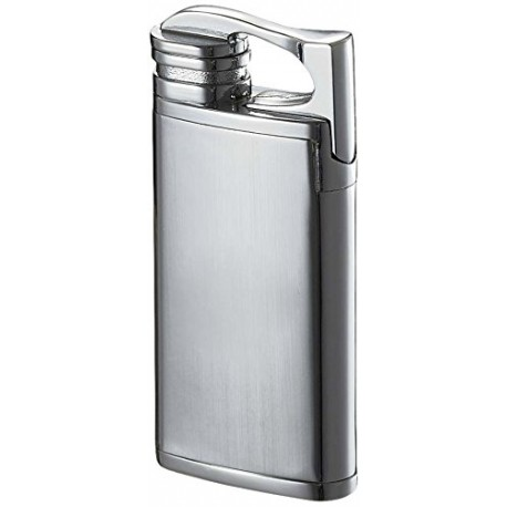 Briquet Iceman Chrome Matte Torch Flame Visol