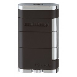 Briquet Allume Single Jet Noir Xikar
