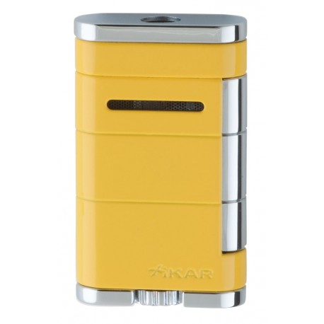 Briquet Allume Single Jet Jaune Xikar
