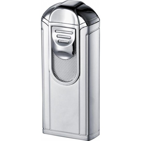 Briquet Alec Single Jet Flame Polished Chrome Visol