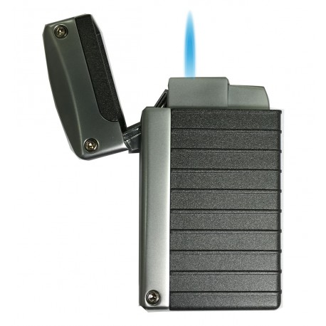 Briquet Norfolk Black Matte Torch Flame Visol