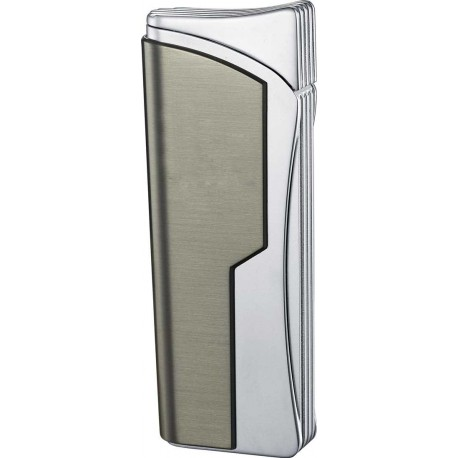 Briquet Diego Gunmetal Single Jet Flame Cigar Visol