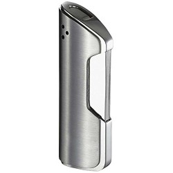 Briquet Pulsante Brushed Chrome Torch Flame Visol