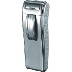 Briquet Mako Satin Chrome Torch Flame Cigar Visol