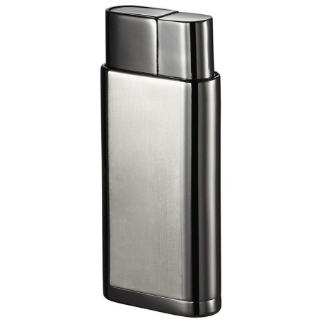 Briquet Marco Satin Gunmetal Torch Flame Visol