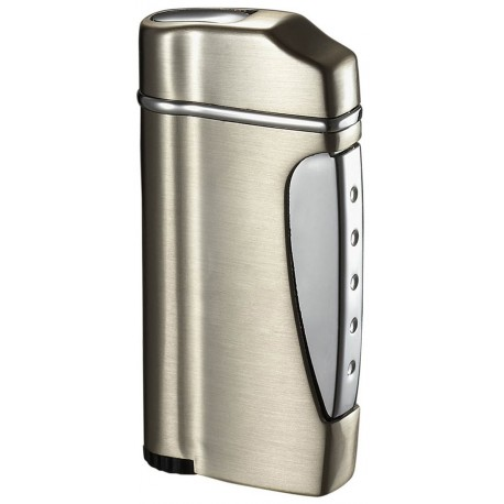 Briquet Nolet Satin Titan Torch Flame Visol