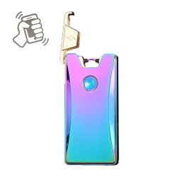 Briquet USB Arc Électrique Haozhe Ice Colorful