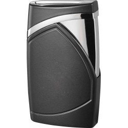 Briquet torche Shark Black Matte flamme unique Cigar Visol