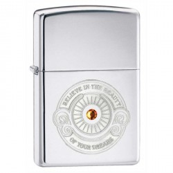ZIPPO Believe with Swarovski Crystal - HP Chrome (poli chromé)