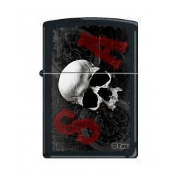 ZIPPO Sons of Anarchy, S-O-A, Black Matte (noir mat)