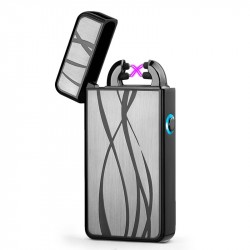 Briquet LIGHTER USB Rechargeable Double Arc design