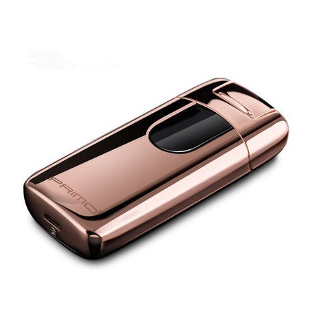 Briquet USB Arc Électrique Or rose Primo Tactile